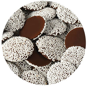 All City Candy Dark Chocolate Maxi Nonpareils - 3 LB Bulk Bag Bulk Unwrapped Kargher Chocolates Default Title For fresh candy and great service, visit www.allcitycandy.com