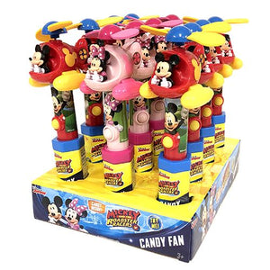 All City Candy Disney Junior Mickey and the Roadster Racers Fan Candy Toy Novelty Candyrific Case of 12 For fresh candy and great service, visit www.allcitycandy.com