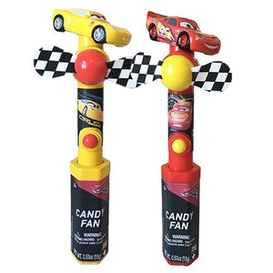 All City Candy Disney Pixar Cars 3 Character Fan Candy Toy Novelty Candyrific 1 Piece For fresh candy and great service, visit www.allcitycandy.com
