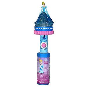 All City Candy Disney Princess Cinderella Light & Sound Wand Candy Toy Novelty Candyrific 1 Piece For fresh candy and great service, visit www.allcitycandy.com