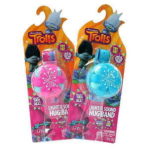 All City Candy Disney Trolls Light and Sound Hug Band Candy Toy Novelty Candyrific For fresh candy and great service, visit www.allcitycandy.com