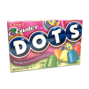 All City Candy DOTS Easter Assorted Fruit Flavored Gumdrops - 6-oz. Theater Box Easter Tootsie Roll Industries 1 Box For fresh candy and great service, visit www.allcitycandy.com