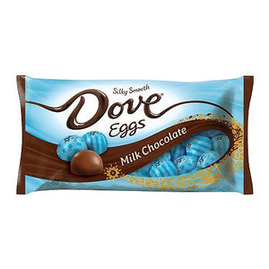 All City Candy Dove Milk Chocolate Eggs - 8.87-oz. Bag Easter Mars Chocolate For fresh candy and great service, visit www.allcitycandy.com