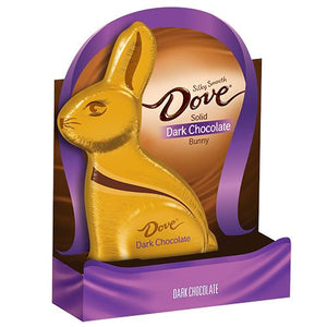 All City Candy Dove Solid Dark Chocolate Easter Bunny 4.5 oz Easter Mars Chocolate For fresh candy and great service, visit www.allcitycandy.com