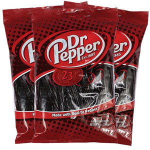 All City Candy Dr. Pepper Licorice Twists Licorice Kenny's Candy Company Case of 6 5-oz. Bags For fresh candy and great service, visit www.allcitycandy.com