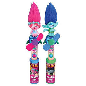 All City Candy Dreamworks Trolls Character Fan Candy Toy Novelty Candyrific 1 Piece For fresh candy and great service, visit www.allcitycandy.com