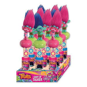 All City Candy Dreamworks Trolls Character Light & Sound Wand Candy Toy Novelty Candyrific Case of 12 For fresh candy and great service, visit www.allcitycandy.com