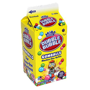 All City Candy Dubble Bubble Assorted Gumballs Machine Size Refills Gum/Bubble Gum Concord Confections (Tootsie) 12-oz. Carton For fresh candy and great service, visit www.allcitycandy.com