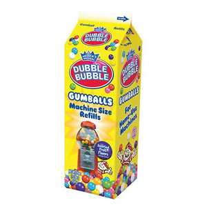 All City Candy Dubble Bubble Assorted Gumballs Machine Size Refills Gum/Bubble Gum Concord Confections (Tootsie) 20-oz. Carton For fresh candy and great service, visit www.allcitycandy.com