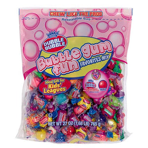 All City Candy Dubble Bubble Bubble Gum Fun Favorites - 27-oz. Bag Gum/Bubble Gum Concord Confections (Tootsie) Default Title For fresh candy and great service, visit www.allcitycandy.com
