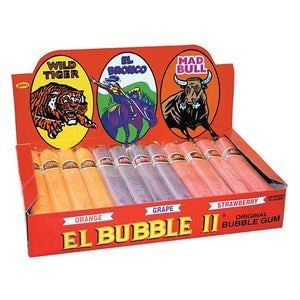 All City Candy Dubble Bubble El Bubble II Original Bubble Gum Cigars - 36 Piece Case Gum/Bubble Gum Concord Confections (Tootsie) Default Title For fresh candy and great service, visit www.allcitycandy.com