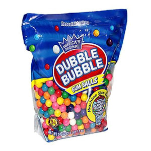 All City Candy Dubble Bubble Gumballs Machine Size Refills - 3.3 LB Bulk Bag Bulk Unwrapped Concord Confections (Tootsie) Default Title For fresh candy and great service, visit www.allcitycandy.com