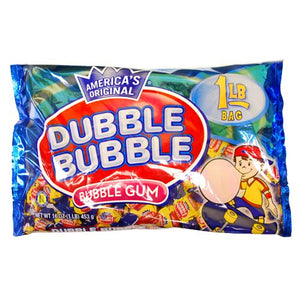 All City Candy Dubble Bubble Original Twist Bubble Gum Gum/Bubble Gum Concord Confections (Tootsie) 1 lb Bag For fresh candy and great service, visit www.allcitycandy.com