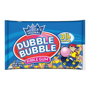 All City Candy Dubble Bubble Original Twist Bubble Gum Gum/Bubble Gum Concord Confections (Tootsie) 3 lb Bag For fresh candy and great service, visit www.allcitycandy.com