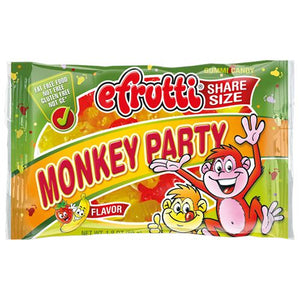 All City Candy efrutti Monkey Party Gummi Candy Share Size - 1.8-oz. Bag Gummi efrutti For fresh candy and great service, visit www.allcitycandy.com