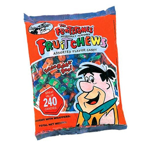 All City Candy Flintstones Fruit Chews Assorted Flavor Candy - 240 Piece Bag Chewy Albert's Candy Default Title For fresh candy and great service, visit www.allcitycandy.com
