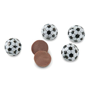 All City Candy Foiled Solid Milk Chocolate Soccer Balls - 3 LB Bulk Bag Bulk Wrapped SweetWorks Default Title For fresh candy and great service, visit www.allcitycandy.com