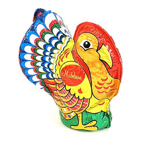 All City Candy Foiled Solid Milk Chocolate Turkey 1 oz. Thanksgiving Madelaine Chocolate Company 1 Piece For fresh candy and great service, visit www.allcitycandy.com