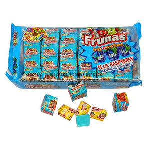 All City Candy Frunas Blue Raspberry Fruit Chews - Pack of 48 Chewy Albert's Candy Default Title For fresh candy and great service, visit www.allcitycandy.com