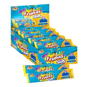 All City Candy Frunas Slabs Blue Raspberry Chewy Candy - Case of 48 Chewy Albert's Candy For fresh candy and great service, visit www.allcitycandy.com