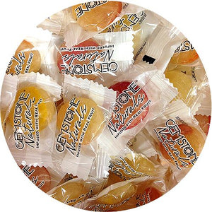 All City Candy Gemstone Naturals Gourmet Mixed Buttons Hard Candies - 3 LB Bulk Bag Bulk Wrapped Atkinson's Candy For fresh candy and great service, visit www.allcitycandy.com