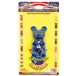 All City Candy Giant Blue Raspberry Gummy Bear Gummi Giant Gummy Bears For fresh candy and great service, visit www.allcitycandy.com