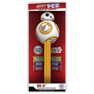 All City Candy Giant PEZ Star Wars BB-8 Candy Dispenser Novelty PEZ Candy For fresh candy and great service, visit www.allcitycandy.com