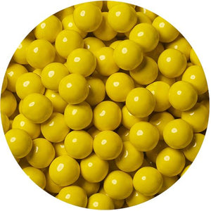 All City Candy Golden Yellow Sixlets Chocolate Candies - 2 LB Bulk Bag Bulk Unwrapped SweetWorks Default Title For fresh candy and great service, visit www.allcitycandy.com
