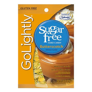 All City Candy GoLightly Sugar Free Butterscotch Hard Candy - 2.75-oz. Bag Hard Hillside Candy Default Title For fresh candy and great service, visit www.allcitycandy.com