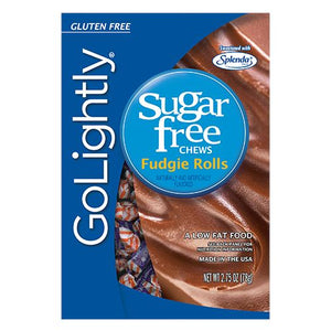 All City Candy GoLightly Sugar Free Chews Fudgie Rolls - 2.75-oz. Bag Hillside Candy Default Title For fresh candy and great service, visit www.allcitycandy.com