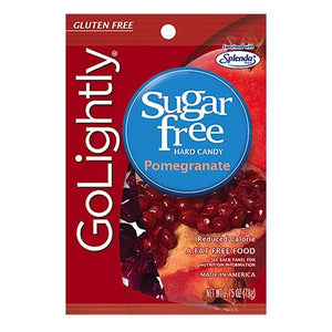 All City Candy GoLightly Sugar Free Pomegranate Hard Candy - 2.75-oz. Bag Hillside Candy Default Title For fresh candy and great service, visit www.allcitycandy.com