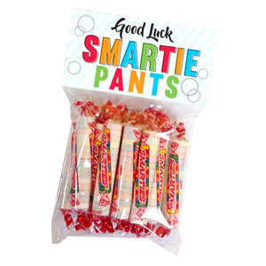 All City Candy Good Luck Smartie Pants Smarties Treat Bag Novelty All City Candy For fresh candy and great service, visit www.allcitycandy.com