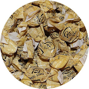 All City Candy GoOrganic Ginger Hard Candy - 3 LB Bulk Bag Bulk Wrapped Hillside Candy Default Title For fresh candy and great service, visit www.allcitycandy.com