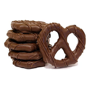 All City Candy Gourmet Dark Chocolate Covered Pretzel Twists Pretzalicious All City Candy Half Dozen For fresh candy and great service, visit www.allcitycandy.com