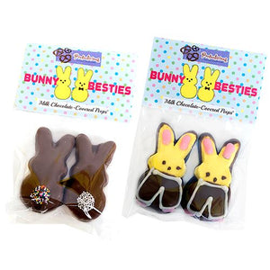 All City Candy Gourmet Milk Chocolate Covered Peeps Bunny Besties 2 Pack Pretzalicious All City Candy For fresh candy and great service, visit www.allcitycandy.com