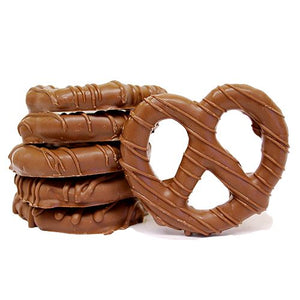 All City Candy Gourmet Milk Chocolate Covered Pretzel Twists Pretzalicious All City Candy Half Dozen For fresh candy and great service, visit www.allcitycandy.com