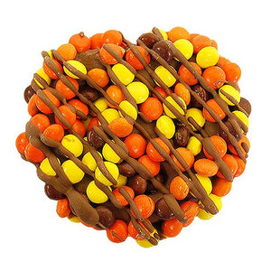 All City Candy Gourmet Milk Chocolate Reese's Pieces Pretzel Twists Pretzalicious All City Candy For fresh candy and great service, visit www.allcitycandy.com