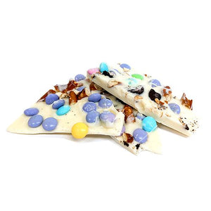 All City Candy Gourmet White Chocolate Spring Pretzel Bark Pretzalicious All City Candy For fresh candy and great service, visit www.allcitycandy.com