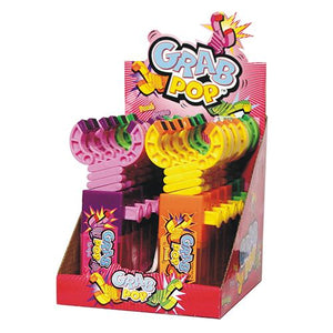 All City Candy Grab Pop Candy Toy Novelty Kidsmania Case of 12 For fresh candy and great service, visit www.allcitycandy.com