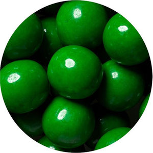 All City Candy Green 1-Inch Gumballs - 2 LB Bulk Bag Bulk Unwrapped SweetWorks Default Title For fresh candy and great service, visit www.allcitycandy.com