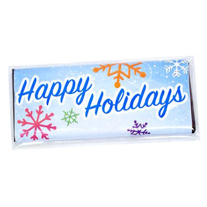 All City Candy Happy Holidays Candy Bar Wrappers Custom All City Candy For fresh candy and great service, visit www.allcitycandy.com