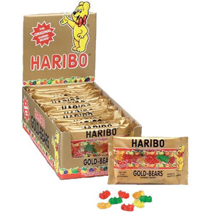 All City Candy Haribo Gold-Bears Gummi Candy - 2-oz. Bag Gummi Haribo Candy Case of 24 2-oz. Bags For fresh candy and great service, visit www.allcitycandy.com
