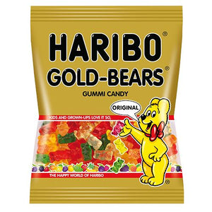 All City Candy Haribo Gold-Bears Gummi Candy Peg Bags Gummi Haribo Candy 5-oz. Bag For fresh candy and great service, visit www.allcitycandy.com