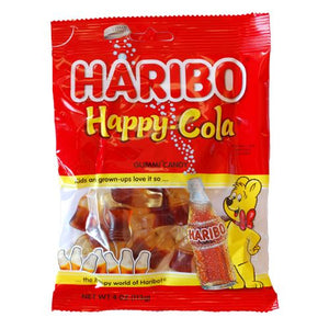 All City Candy Haribo Happy Cola - 4 oz Bag Gummi Haribo Candy For fresh candy and great service, visit www.allcitycandy.com