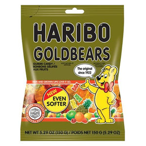 All City Candy Haribo Kosher Gold Bears Gummi Candy - 5.29-oz. Bag Gummi Paskesz Candy Co. For fresh candy and great service, visit www.allcitycandy.com