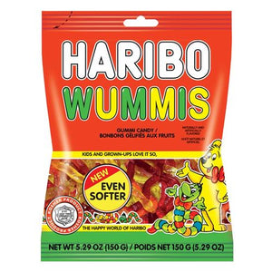 All City Candy Haribo Kosher Wummies Gummi Worm Candy - 5.29-oz. Bag Gummi Paskesz Candy Co. For fresh candy and great service, visit www.allcitycandy.com