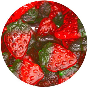 All City Candy Haribo Strawberries Gummi Candy - 5 LB Bulk Bag Gummi Haribo Candy Default Title For fresh candy and great service, visit www.allcitycandy.com