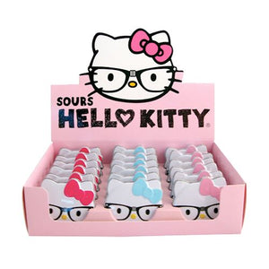 All City Candy Hello Kitty Nerd Sours Candy - .7-oz. Tin Novelty Boston America Case of 18 For fresh candy and great service, visit www.allcitycandy.com