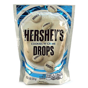 All City Candy Hershey's Cookies 'n' Creme Drops - 8-oz. Bag Chocolate Hershey's For fresh candy and great service, visit www.allcitycandy.com