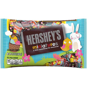 All City Candy Hershey's Easter Assorted Miniatures Candy Bars - 8.5-oz. Bag easter Hershey's For fresh candy and great service, visit www.allcitycandy.com